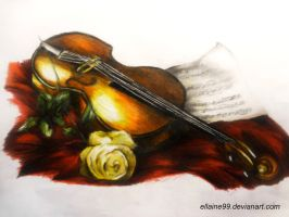 The Violin by Ellaine99