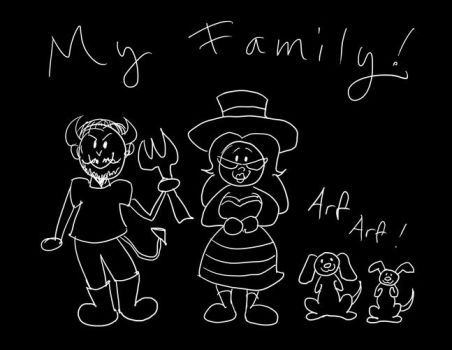 My Family by enigmawing