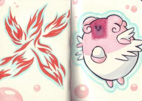 Blissey by Nayawinden