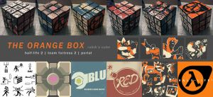 The Orange Box Rubik's Cube by ex-m