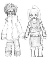 Shino and Ino Together by Tenjilover