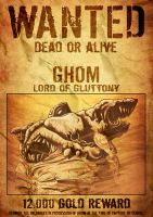 WANTED - Ghom by Mokhan