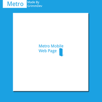 Metro Mobile Page by Grimmdev