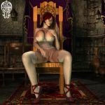 Lonely Noblewoman by Chup-at-Cabra