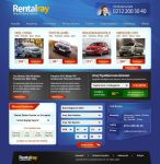 Rentalray Car Rental site by cenkakyildiz