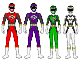 Power Rangers Astro Surge by Gekiblack