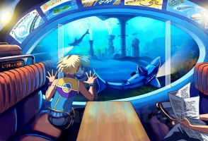 Original: Undersea Train by Risachantag
