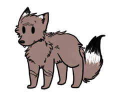 :CO:Chibi The Wolf by screms