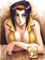 Faye Valentine commission by bigbigtruck