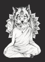 Aware Wolf. by owlink