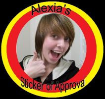 Alexia's Sticker of Approval by lolacolabunny