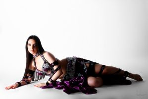 Purple Belly Dance Stock 06 by LoryenZeytin