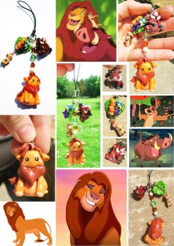 lion king charm commission by mayumi-loves-sora