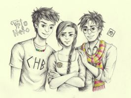 Trio Hero by manzanaperdida