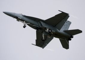 Boeing F-18E Super Hornet Slow Pass by shelbs2