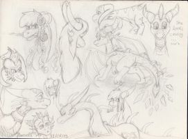 Sketch page by floravola