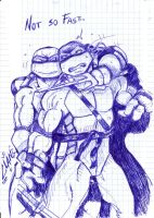 Sketch-Raph and Leo by Deviata
