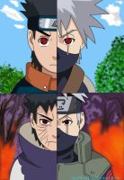 Kakashi and Obito: Once Friends. Now Foes by deeMrofl