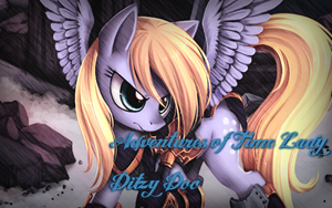 Time Lady Ditzy Doo Wallpaper by VictriaOfArgus