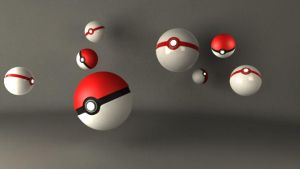 Pokeball 3D - 3 by n03p0nc3