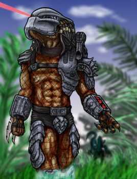 Predator painting by ButtZilla