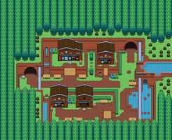 PkMn Golden Silver: Old New Old New Bark Town by Midnitez-REMIX