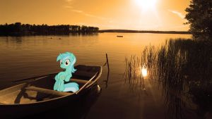 Lyra on a boat... by travischan03