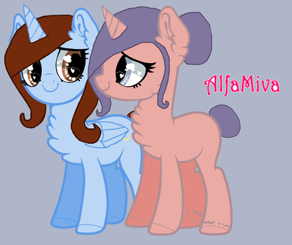 Sisters Stick Together by CelesteTheAlicorn