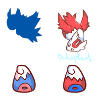 Poke Adopts: Latias and Latios by The-Earth-Mistress