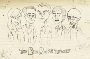 The Big Bang Theory by JohnMon