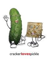 Pickle Loves Cracker by estranged-illusions
