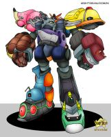 LET'S DIGI GREAT MIGHT GAINE!! ex by techan