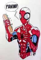 Spidey sketch by SpideyCreed