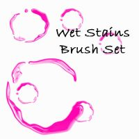 Wet Stain Brush Set by eMelody