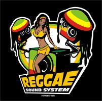 Reggae Sound System by freeheadcomx
