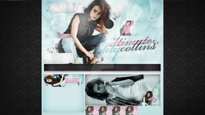 Ordered design (ultimate-lilycollins.blog.cz) #2 by dailysmiley
