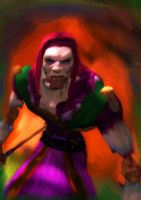 Walk through the Undercity. Despond by Moolooko0
