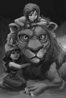 lion by salahh