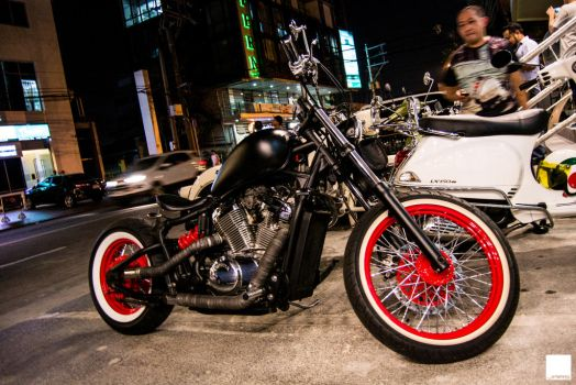 Custom Steed 400 by JRAS22