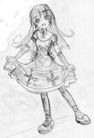 Cross Gothic Lolita by NoixEX