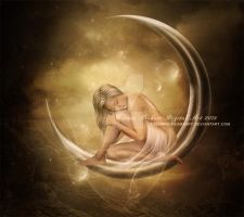 Lunar Dream by ThelemaDreamsArt