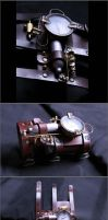 Steampunk Bracer by xray303