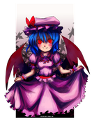 Remilia Scarlet by despreocupabloart