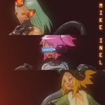 3 Lady Faces by Mikeinel