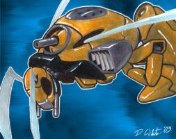 Wasp Mecha - Original by neonblaze