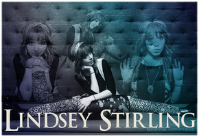 Lindsey Stirling - Wall by MrArinn