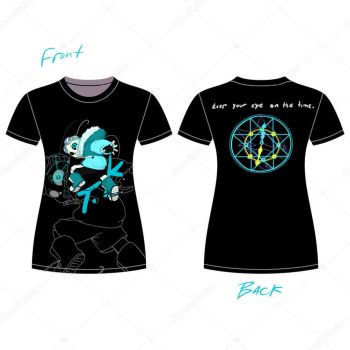 Quantumtale tshirt design( WOMEN ) by perfectshadow06