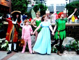 Peter Pan's gang by soliciana