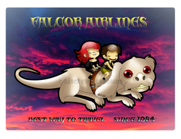 Falcor Airlines by LaCice