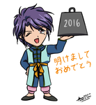 Happy New Year 2016 by hirokada